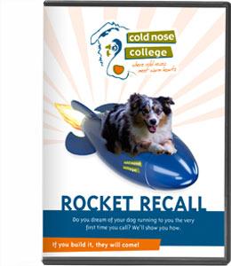 Rocket Recall dog training dvd