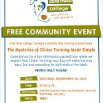 Ask the Trainer – Free Community Event by the Trainers of Cold Nose College