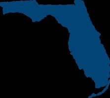 Florida map icon