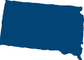 South Dakota map icon